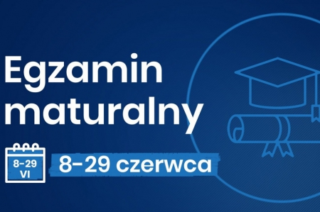 Aktualizacja harmonogramu egzaminy maturalnego